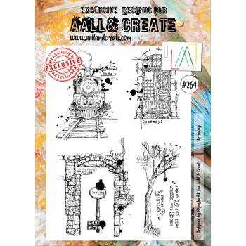AALL & Create ARCHWAY 264 A4 Clear Stamps aal00264