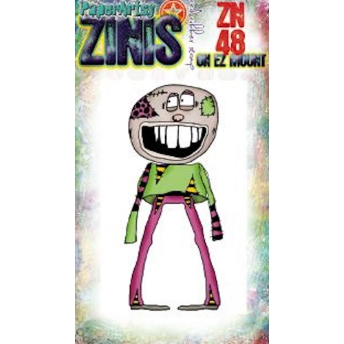 Paper Artsy ZINI 48 Maxi Mini Cling Stamp zn48 Preview Image