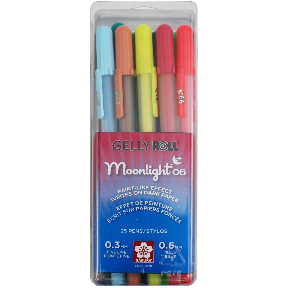 Sakura MOONLIGHT FINE POINT PENS SET 58179* zoom image