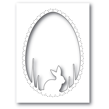 Memory Box BUNNY EGG COLLAGE Craft Die 94445