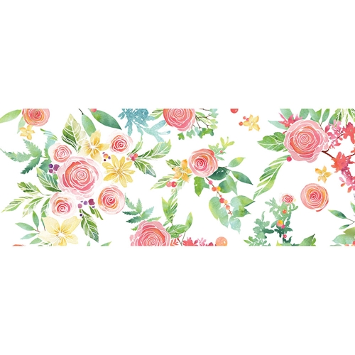 Memory Box ROSE BOUQUET Wide Washi Tape wt499 Preview Image