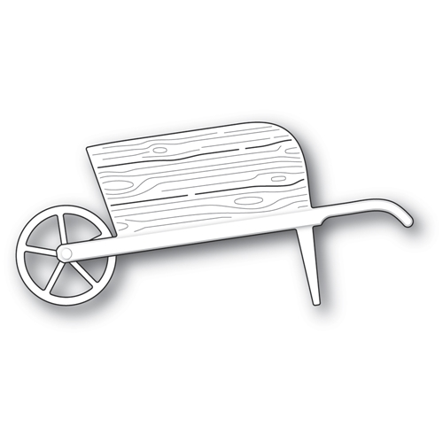 Poppy Stamps COUNTRY GARDEN WHEELBARROW Craft Dies 2336 Preview Image