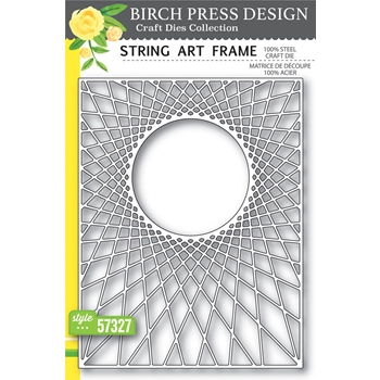Birch Press Design STRING ART FRAME Craft Die 57327