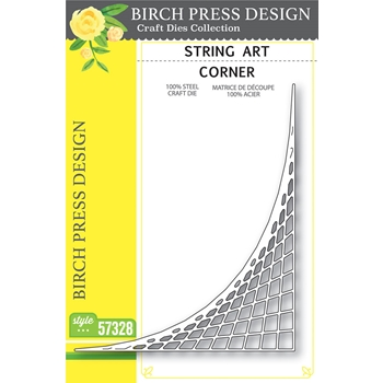 Birch Press Design STRING ART CORNER Craft Die 57328