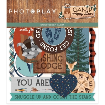 PhotoPlay CAMP HAPPY BEAR Ephemera chb2109