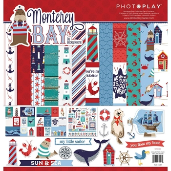 PhotoPlay MONTEREY BAY 12 x 12 Collection Pack mon2096
