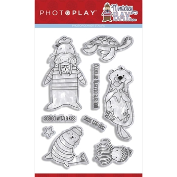 PhotoPlay MONTEREY BAY Clear Stamps mon2098