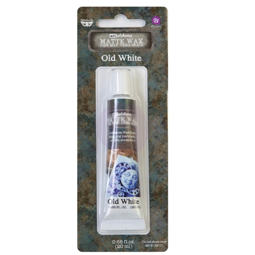 Prima Marketing OLD WHITE Finnabair Wax Paste 967857 Preview Image