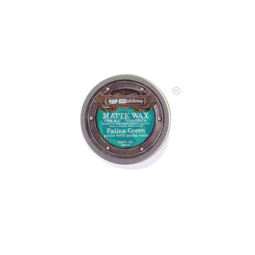 Prima Marketing PATINA GREEN Finnabair Wax Paste 967864 Preview Image