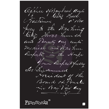 Prima Marketing READ MY LETTER 6 x 9 Stencil 967970