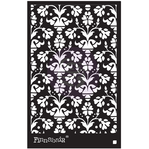 Prima Marketing VINTAGE WALLPAPER 6 x 9 Stencil 967987 Preview Image