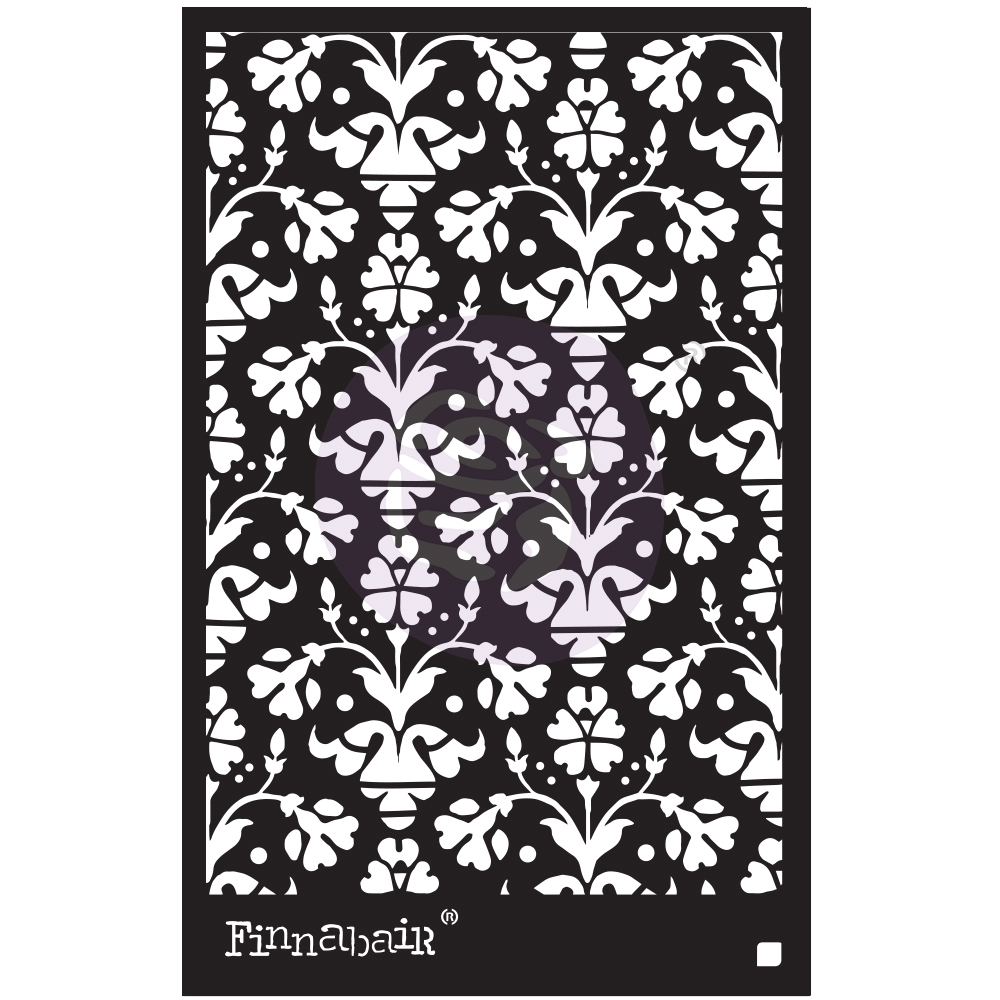 Prima Marketing VINTAGE WALLPAPER 6 x 9 Stencil 967987 zoom image
