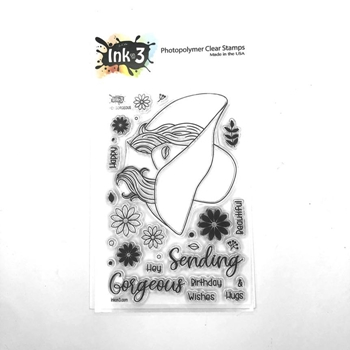 Inkon3 Hey Gorgeous Clear Stamps 04068