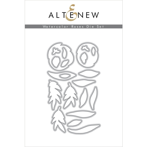 Altenew WATERCOLOR ROSES Dies ALT3730 Preview Image