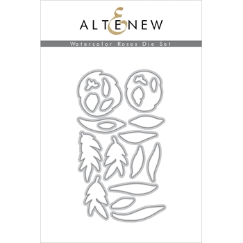 Altenew WATERCOLOR ROSES Dies ALT3730