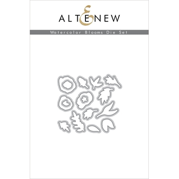 Altenew WATERCOLOR BLOOMS Dies ALT3727