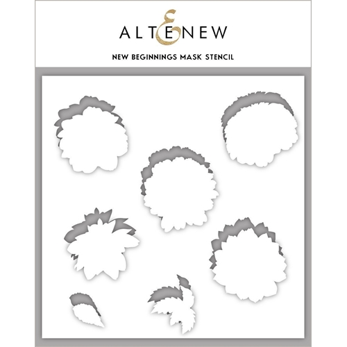 Altenew NEW BEGINNINGS Masked Stencil ALT3719MS Preview Image