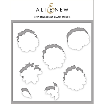 Altenew NEW BEGINNINGS Masked Stencil ALT3719MS*
