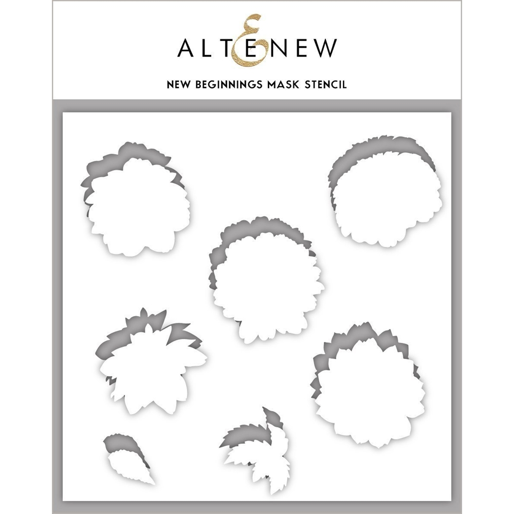 Altenew NEW BEGINNINGS Masked Stencil ALT3719MS zoom image