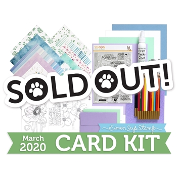 Simon Says Stamp Card Kit of The Month MARCH 2020 STRONGER TOGETHER ck0320