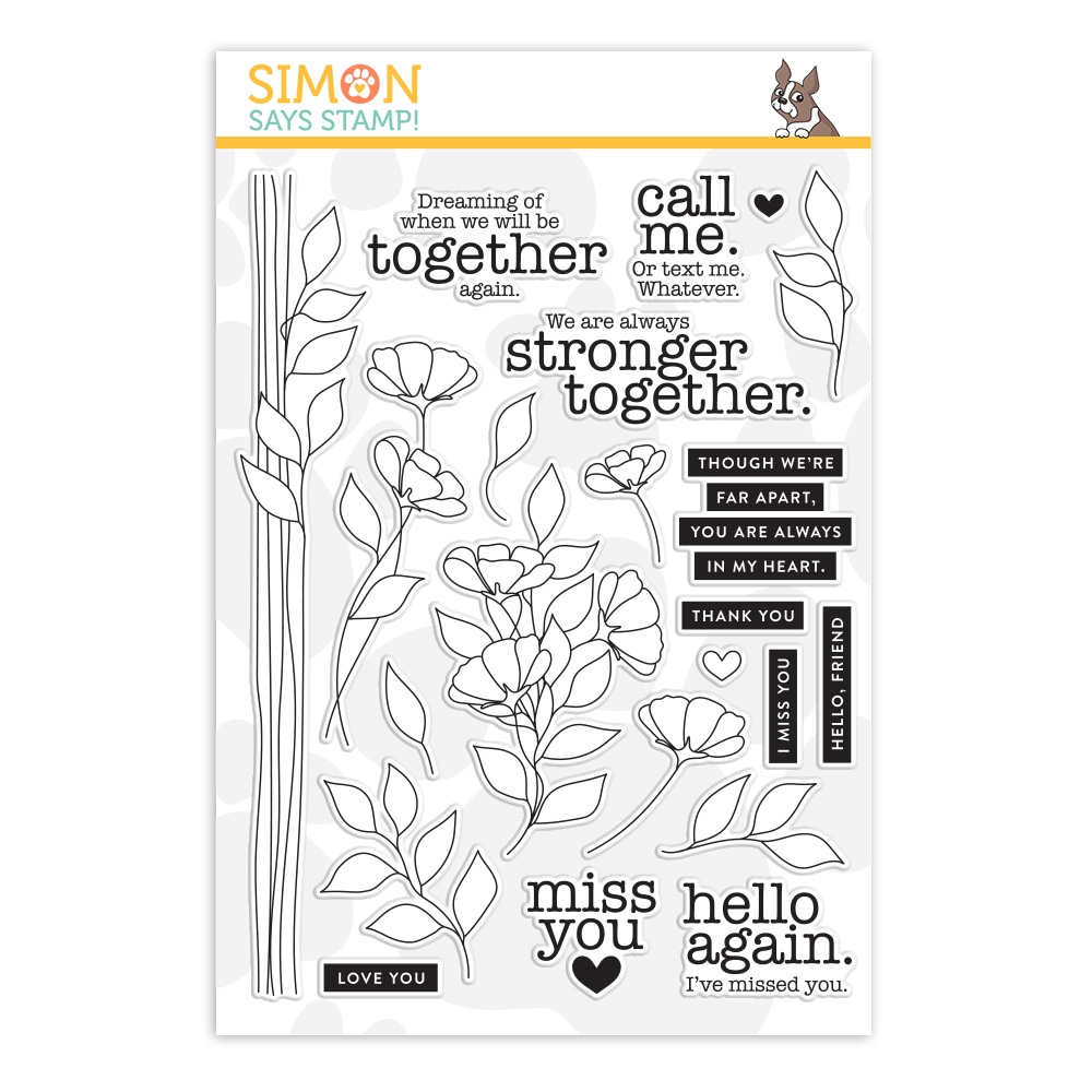 Simon Says Clear Stamps STRONGER TOGETHER sss202085  zoom image