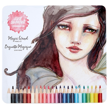 JD-046 Spellbinders MAGIC WAND COLOR PENCILS Jane Davenport