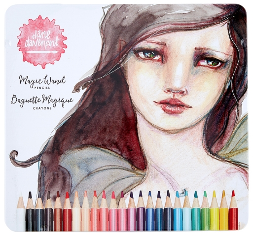 JD-046 Spellbinders MAGIC WAND COLOR PENCILS Jane Davenport* zoom image