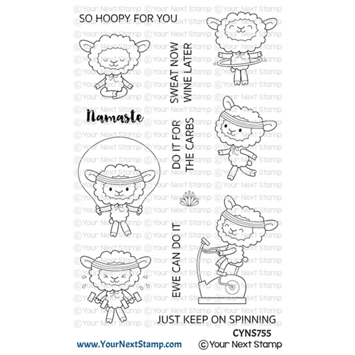 Your Next Stamp EWE CAN DO IT Clear cyns755 Preview Image
