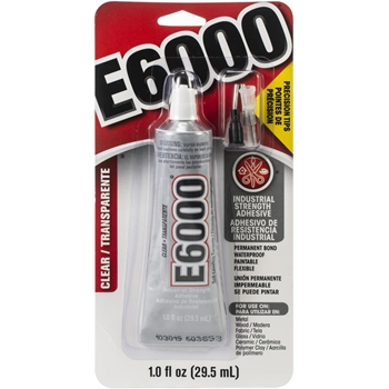E6000 Clear Adhesive With PRECISION TIPS 1020
