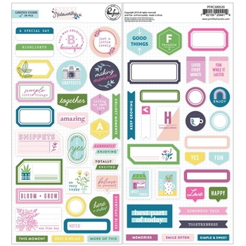 Pinkfresh Studio NOTEWORTHY Cardstock Stickers pfrc200520