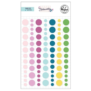 Pinkfresh Studio NOTEWORTHY Enamel Dots pfrc201020
