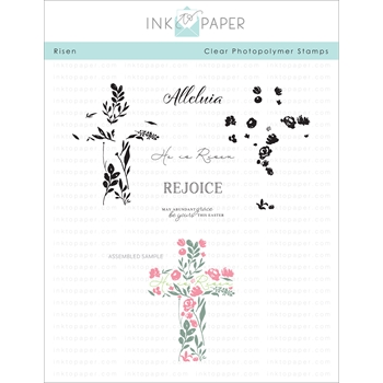 Papertrey Ink RISEN Clear Stamps 1147