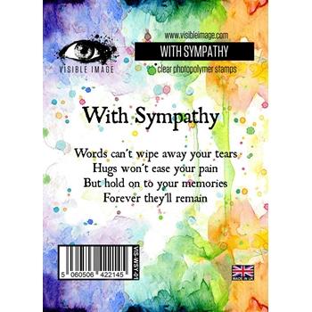 Visible Image WITH SYMPATHY Clear Stamp Set VIS-WSY-01
