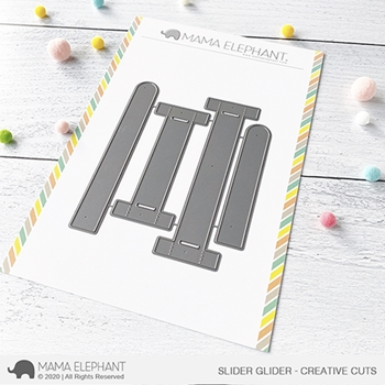 Mama Elephant SLIDER GLIDER Creative Cuts Steel Dies