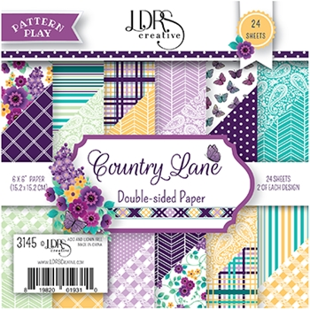 LDRS Creative COUNTRY LANE 6 x 6 Paper Pack 3145