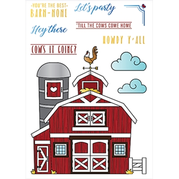 LDRS Creative BARNYARD Clear Stamps 3209
