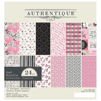 Authentique 6 x 6 FLAWLESS Paper Pad fla008
