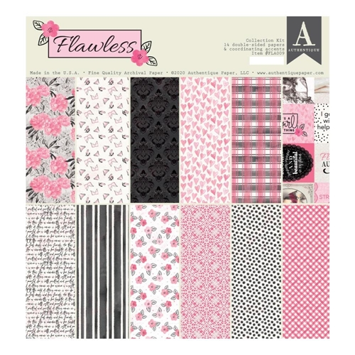 Authentique FLAWLESS 12 x 12 Collection Kit fla009 Preview Image