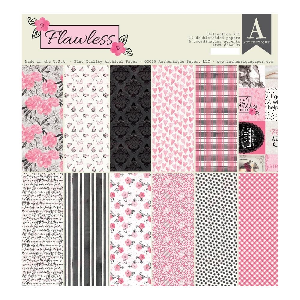 Authentique FLAWLESS 12 x 12 Collection Kit fla009 zoom image