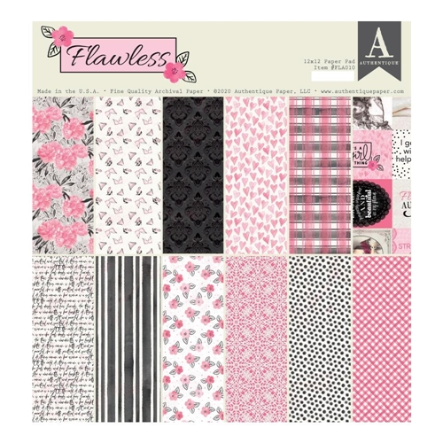 Authentique FLAWLESS 12 x 12 Paper Pad fla010 Preview Image