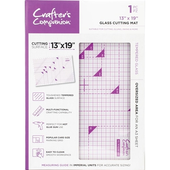 Crafter's Companion 13 x 19 GLASS CUTTING MAT cctoolgmat19