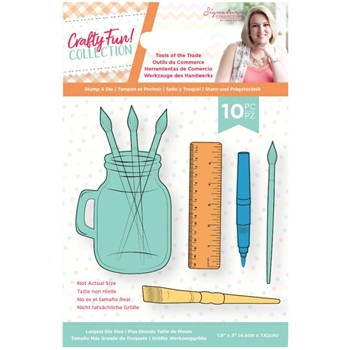 Crafter's Companion TOOLS OF THE TRADE Stamp And Die Set scfstdctott