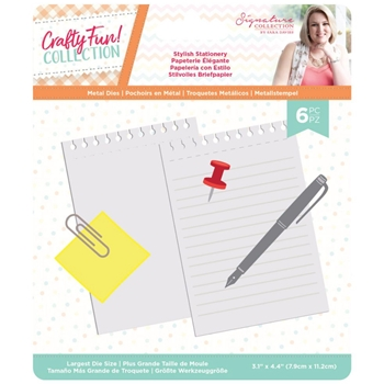 Crafter's Companion STYLISH STATIONERY Die Set scfmdstst