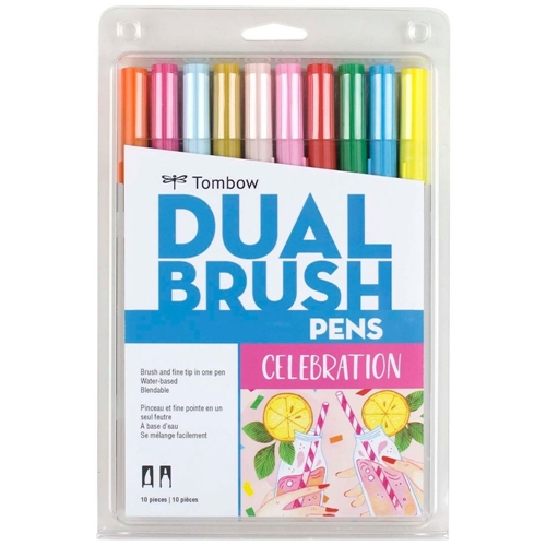 Tombow CELEBRATION Dual Brush Pens 56215 Preview Image