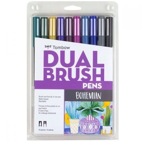 Tombow BOHEMIAN Dual Brush Pens 56218 Preview Image