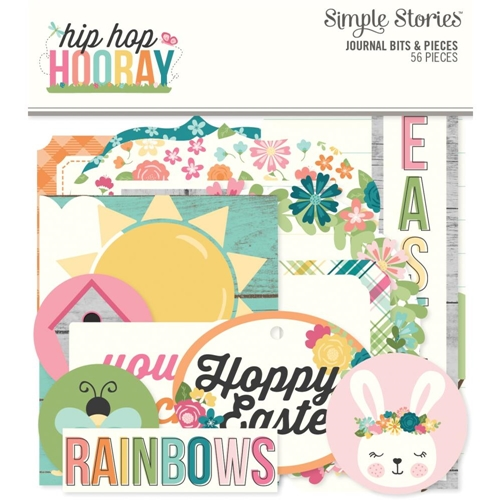Simple Stories HIP HOP HOORAY Journal Bits And Pieces 12124 Preview Image