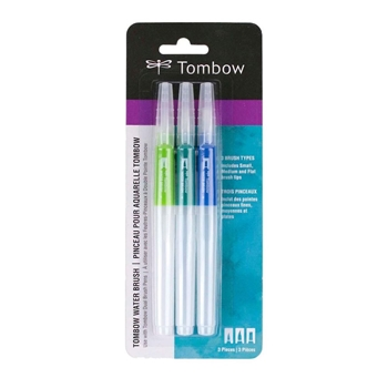 Tombow WATER BRUSH Set of Three 56253