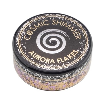 Cosmic Shimmer MORNING BLUSH Aurora Flakes csafblush