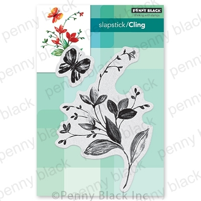 Penny Black Cling Stamp EXHILARATION 40-745* Preview Image