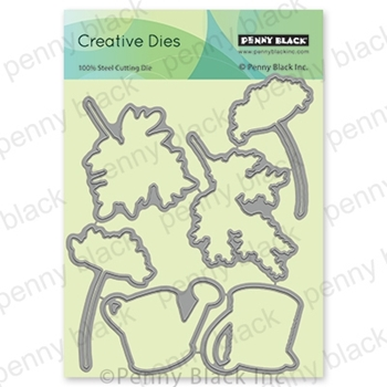 Penny Black COUNTRY CHARISMA CUT OUT Thin Metal Creative Dies 51 634